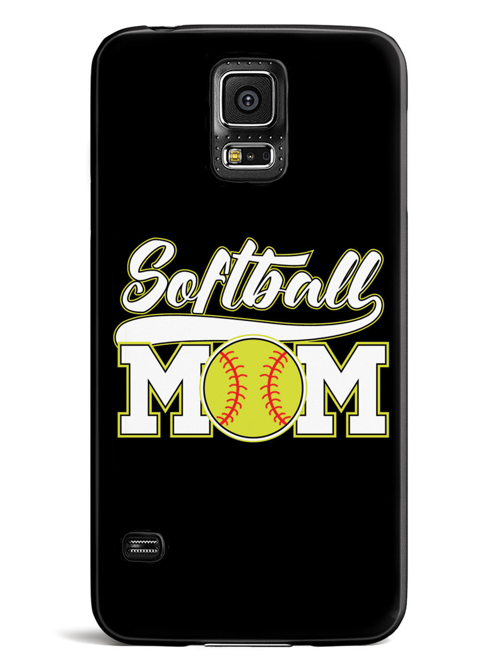 Softball Mom - Black Case