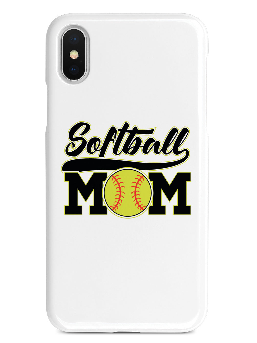 Softball Mom - White Case