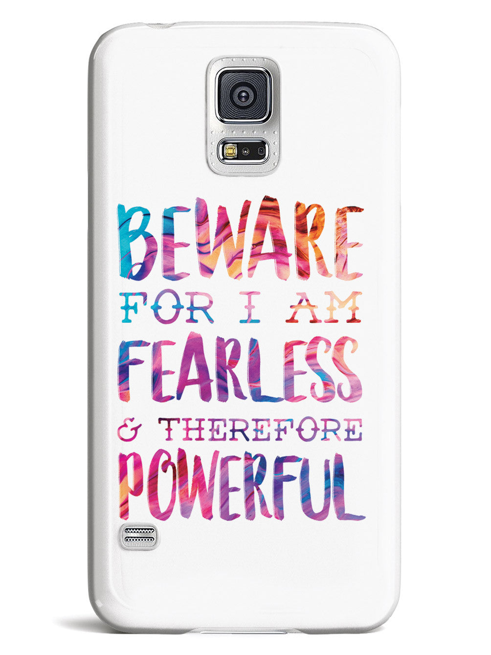 Beware For I Am Fearless Case