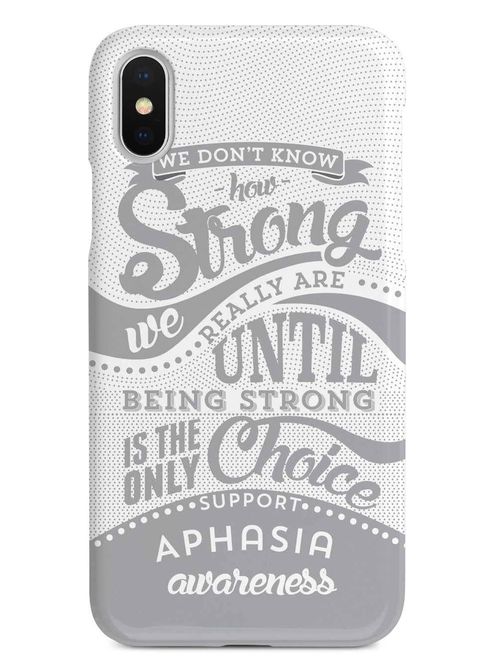 Aphasia Awareness - How Strong Case