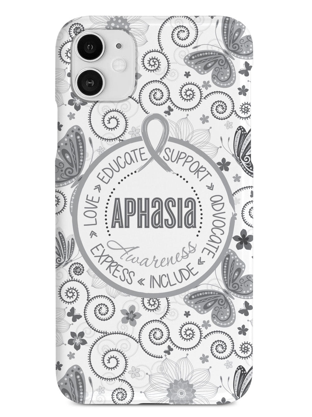 Aphasia Awareness - Butterfly Pattern Case