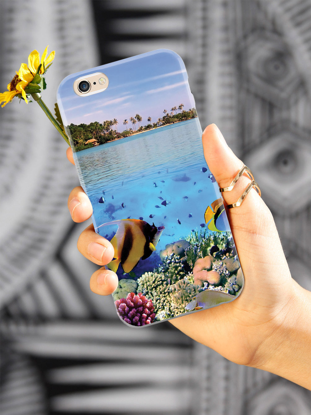 Tropical Paradise - Underwater Scene Case
