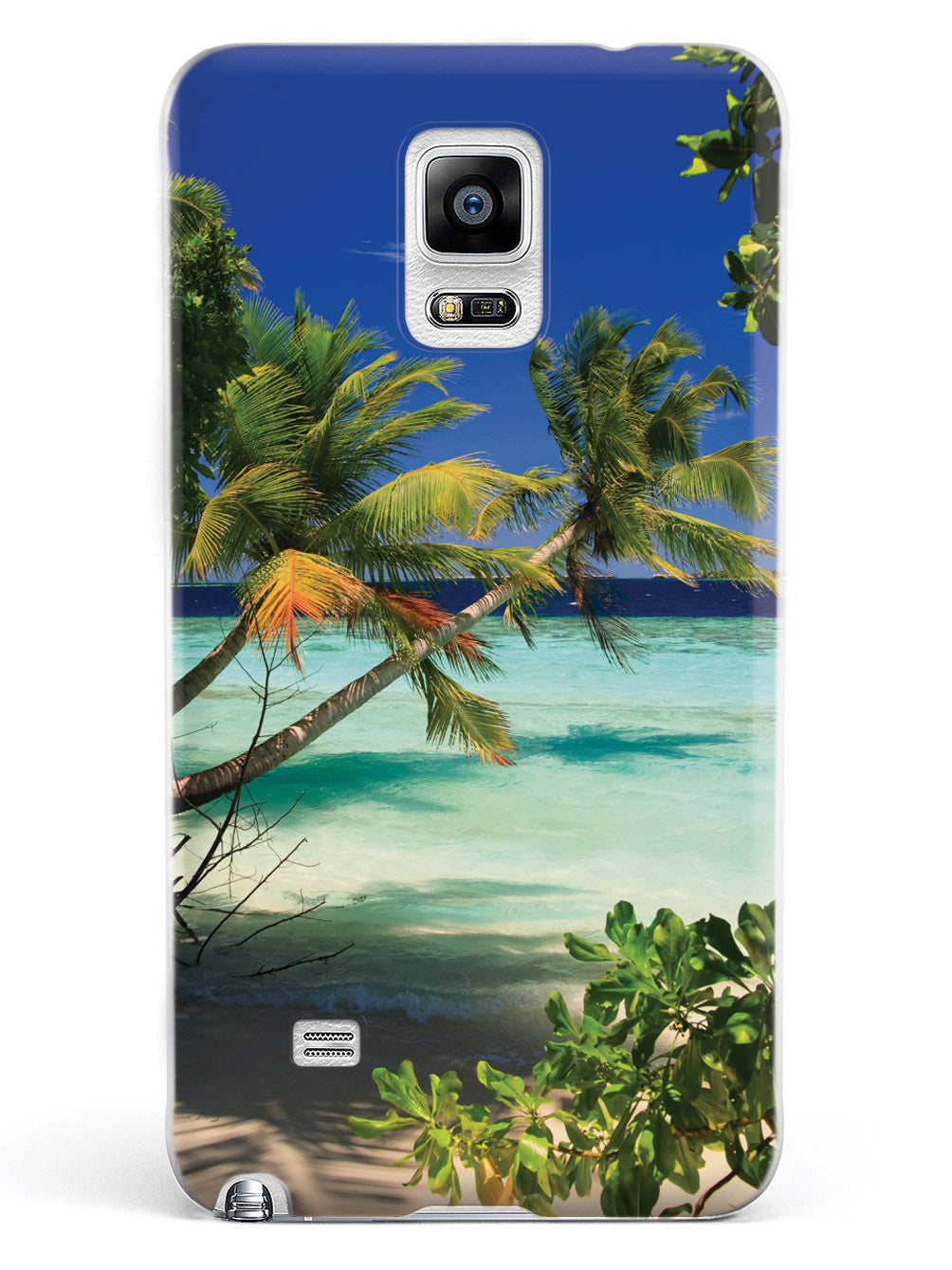 Palm Trees and Beach Scene Case