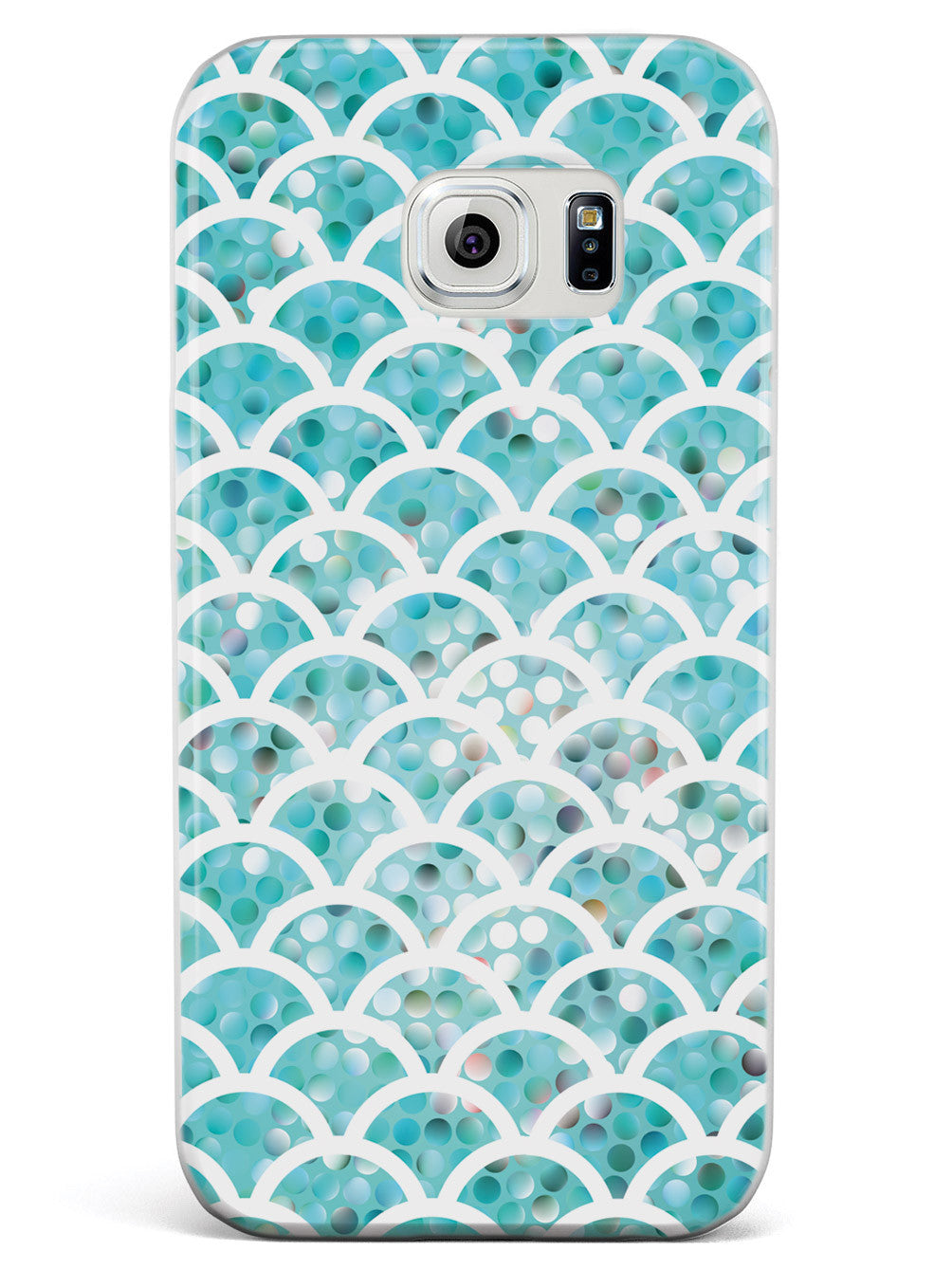 Mermaid Scales - Teal Case