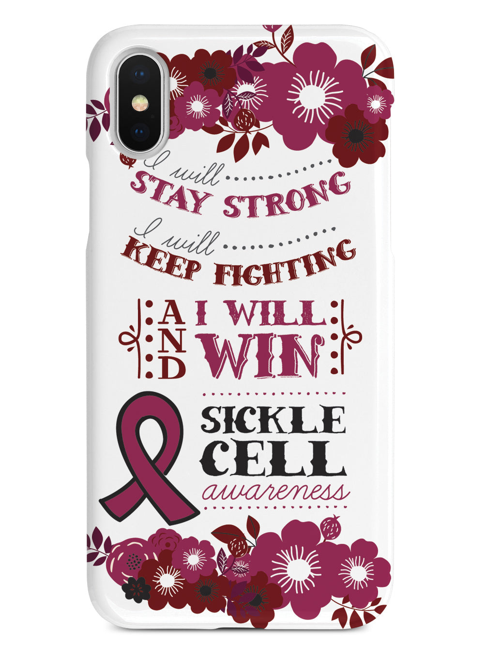 I Will Win - Sickle Cell Awareness  Case