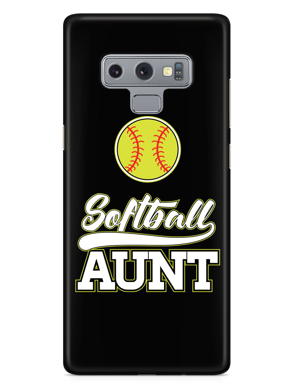 Softball Aunt - Black Case