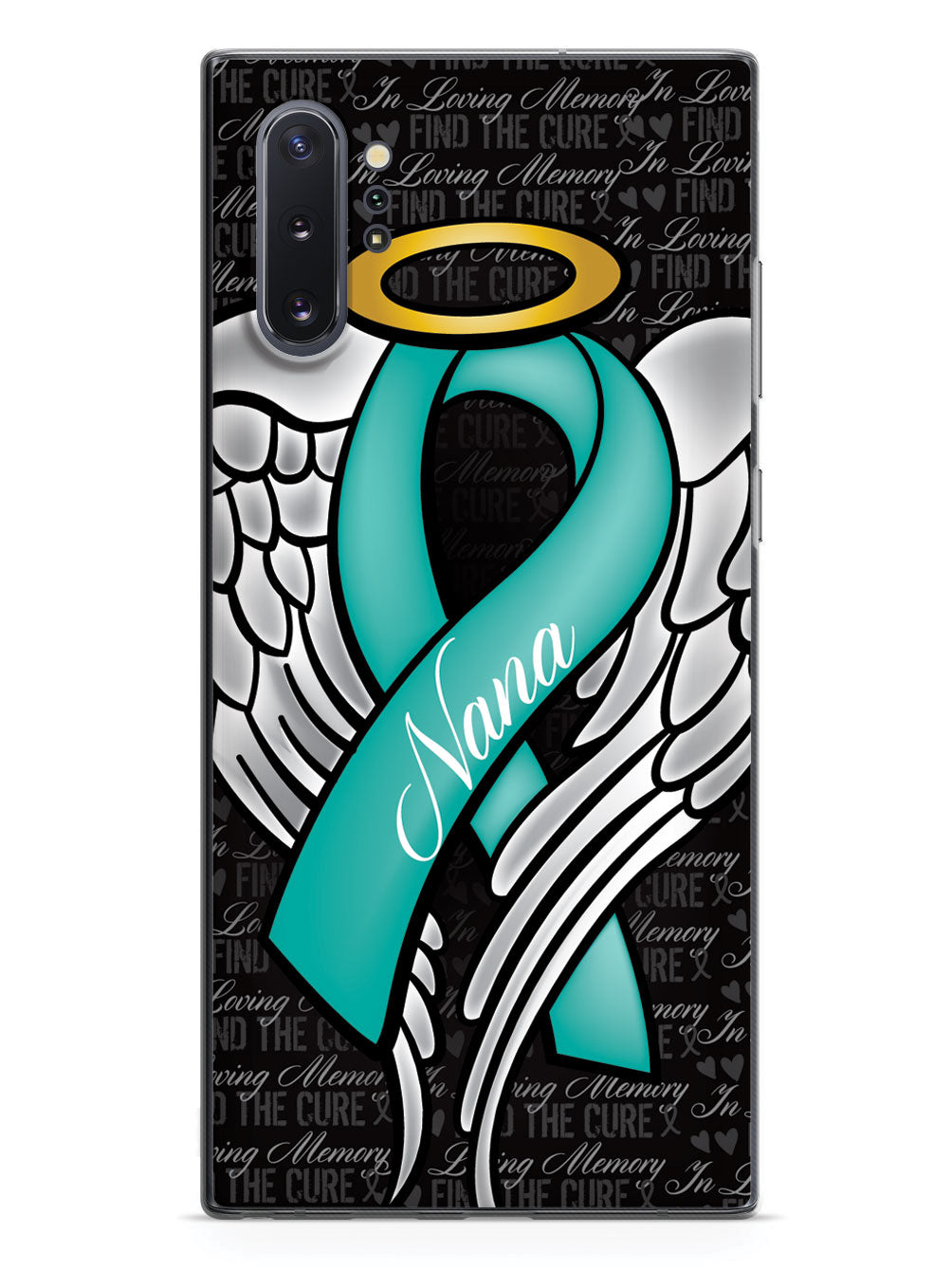 In Loving Memory of My Nana - Teal Ribbon Case