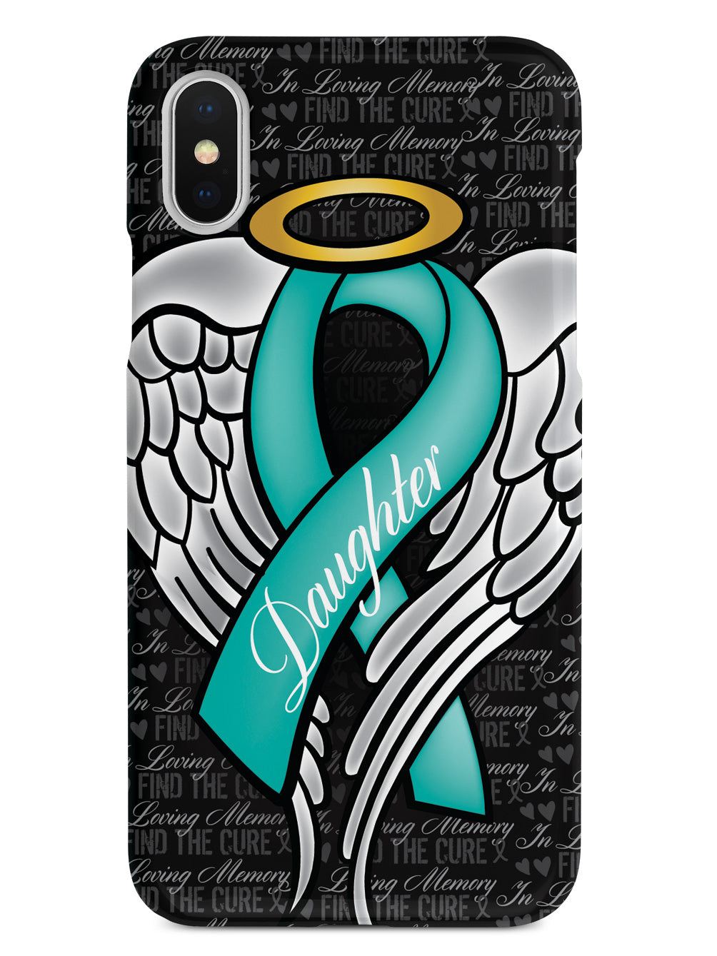 In Loving Memory of My Daughter - Teal Ribbon Case