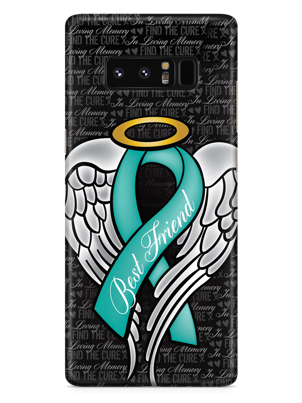 In Loving Memory of My Best Friend - Teal Ribbon Case