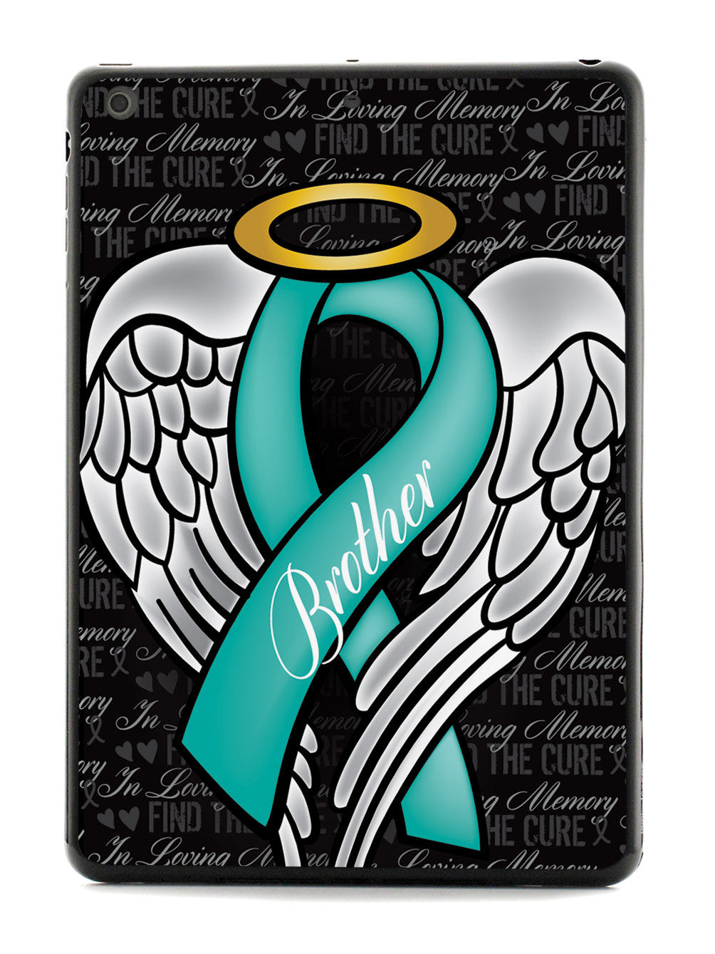 In Loving Memory of My Brother - Teal Ribbon Case
