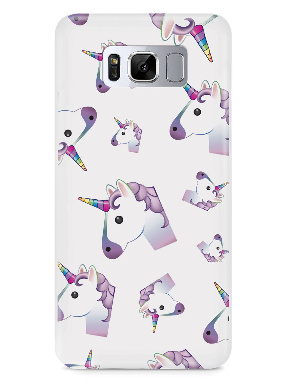 Unicorn Emoji Pattern Case