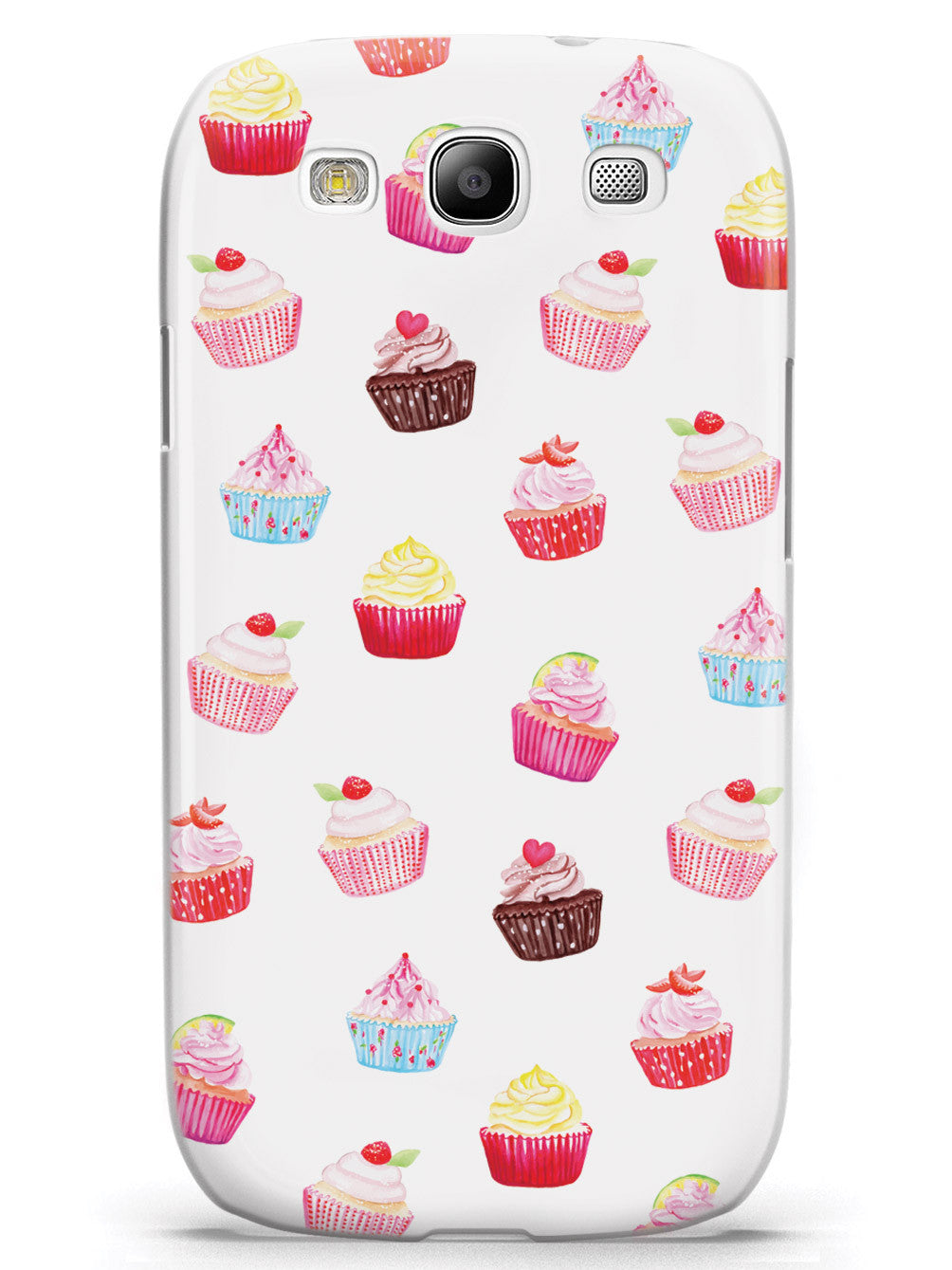 Cute Cupcake Pattern Case