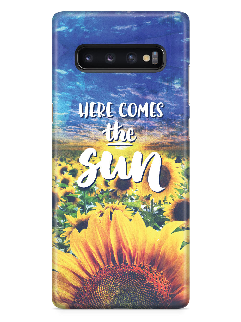 Here Comes the Sun - Sunflower Case