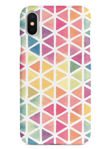 Pastel Triangle Pattern Case