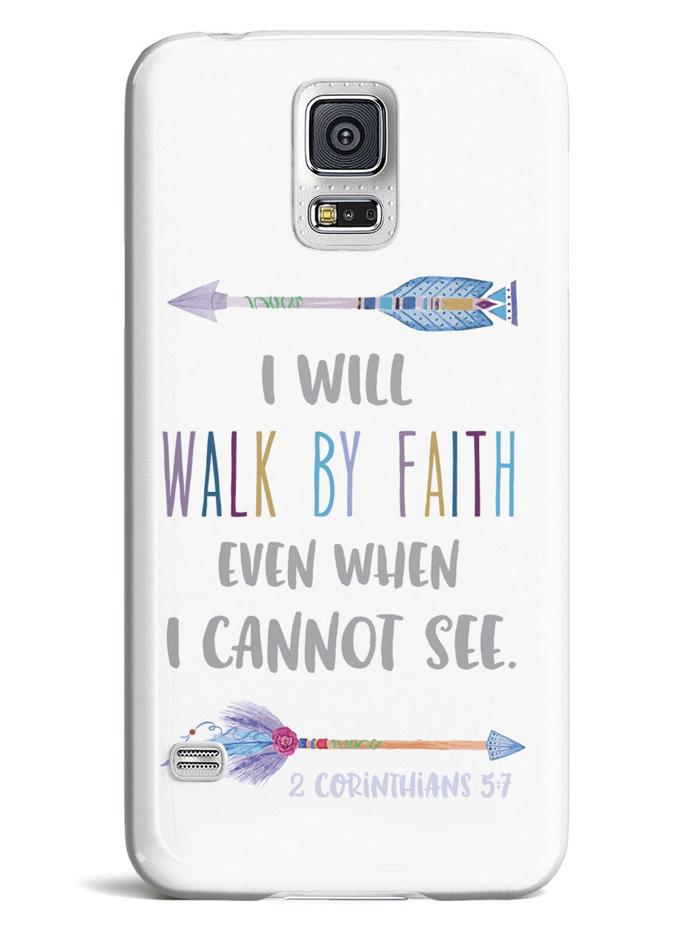 I Will Walk By Faith - 2 Corinthians 5:7 Case