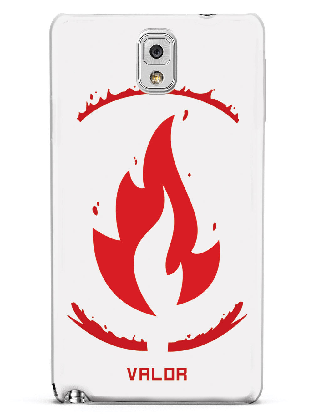 Team Valor Emblem - White Case