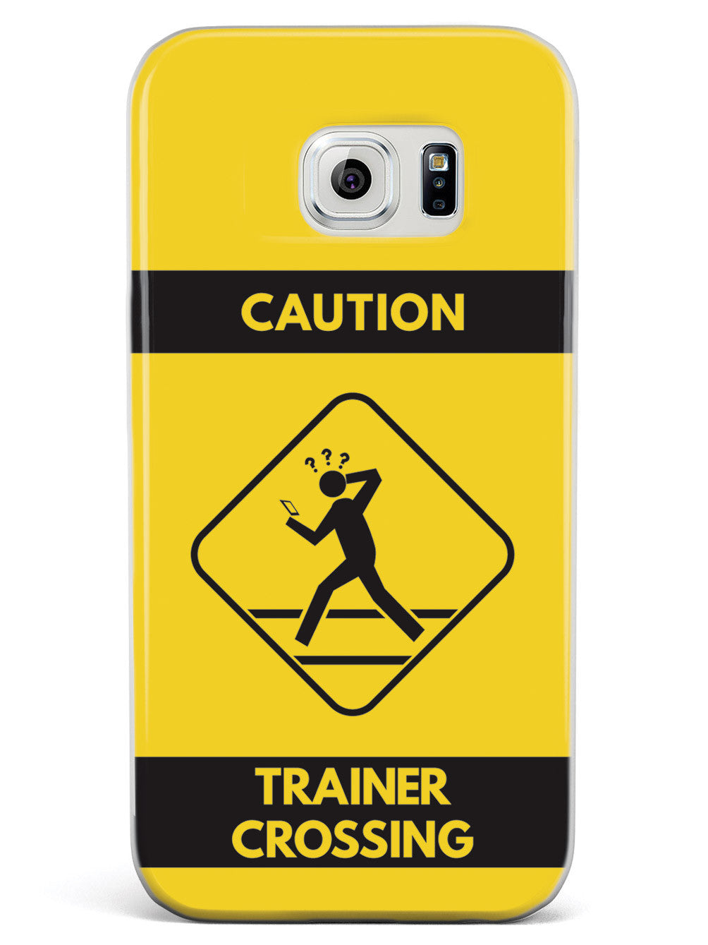 Caution Trainer Crossing - Yellow Case