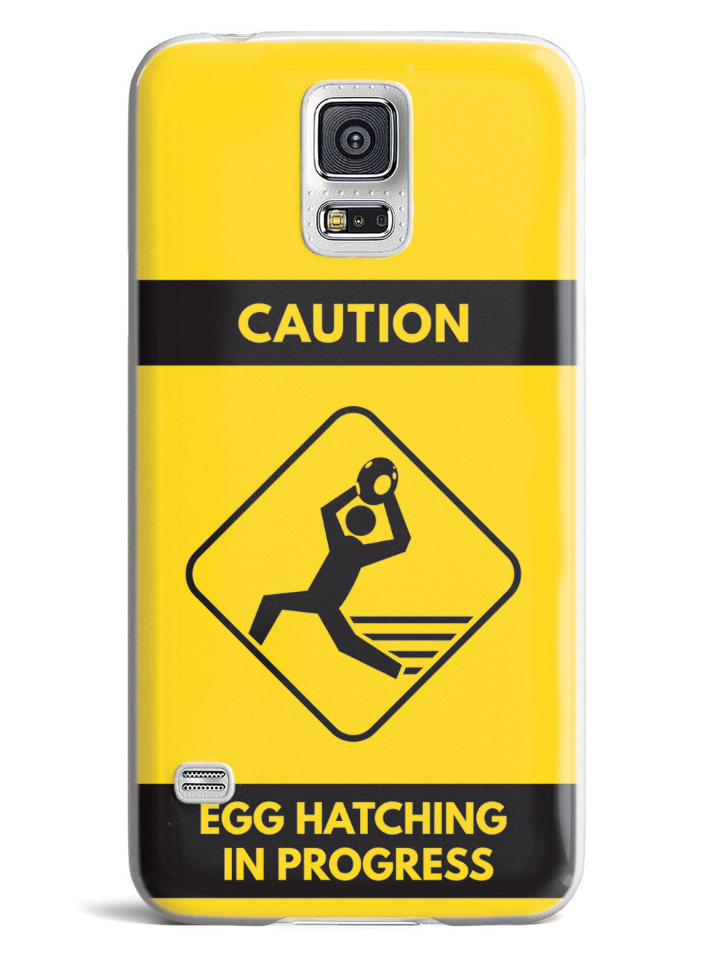 Egg Hatching In Progress - Yellow Case