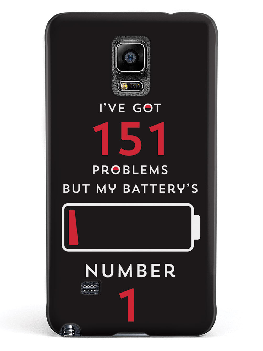 I've Got 151 Problems - Black Case