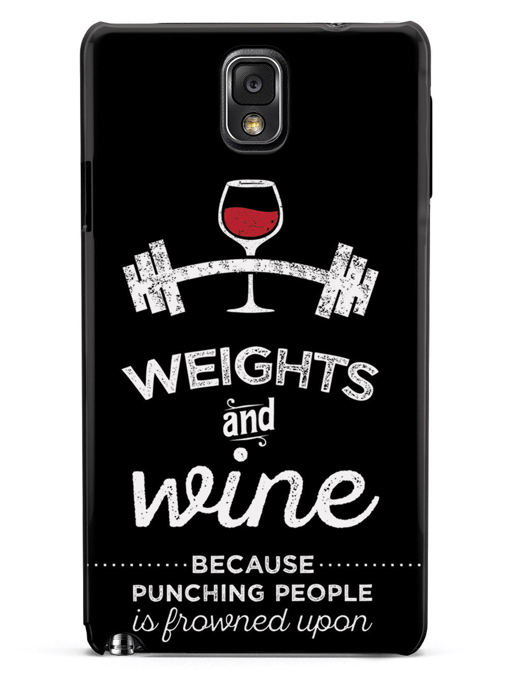 Weights and Wine Case