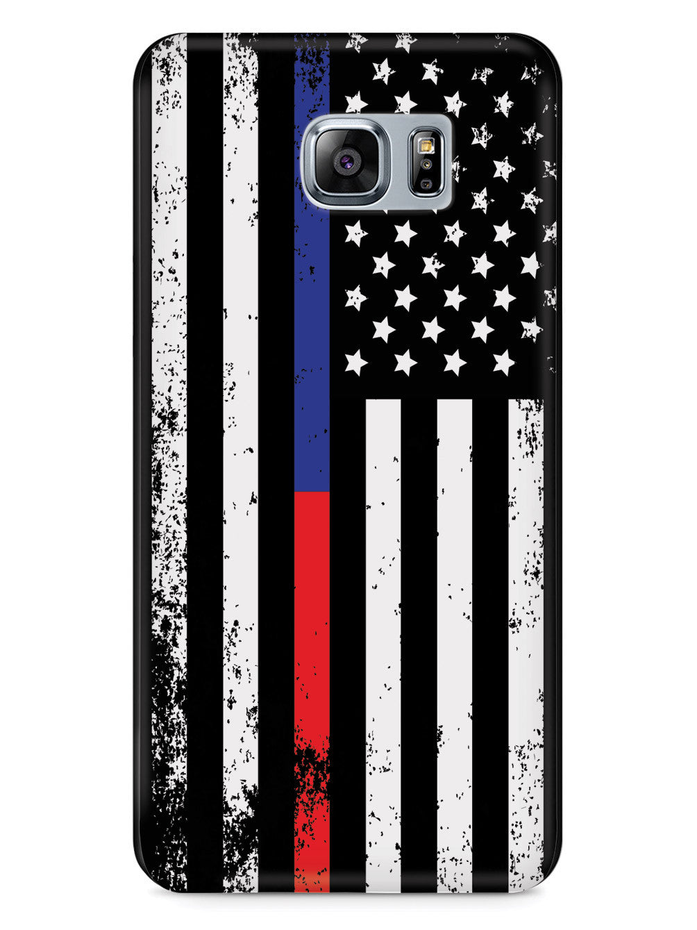 Downward American Flag - Thin Blue Line & Thin Red Line Case