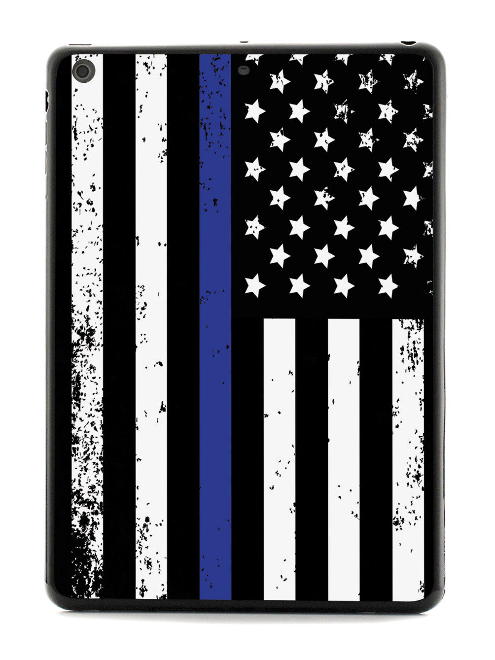 Downward American Flag - Thin Blue Line Case