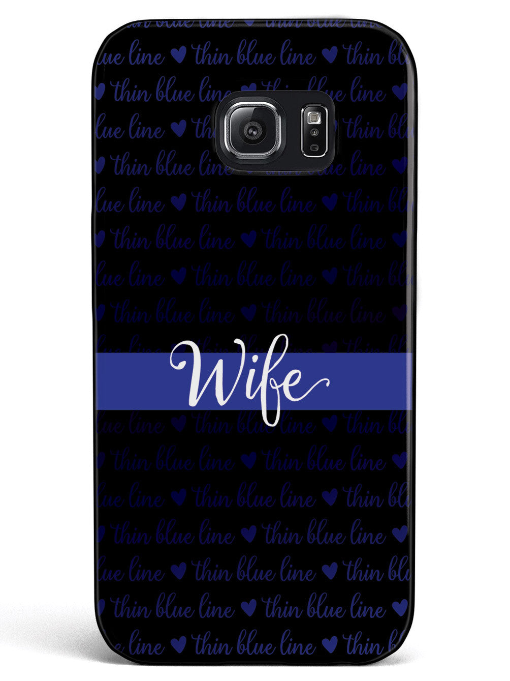 Thin Blue Line - Wife Case