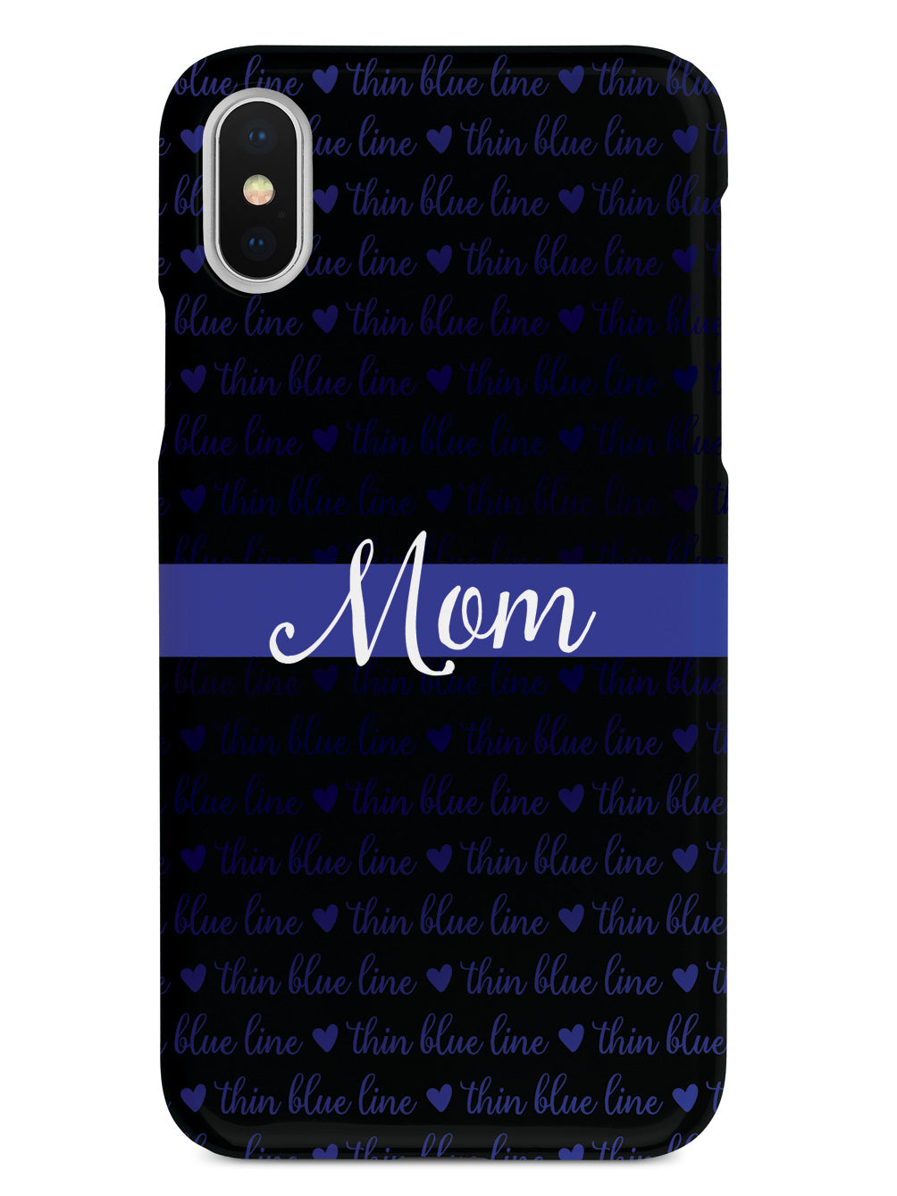 Thin Blue Line - Mom Case