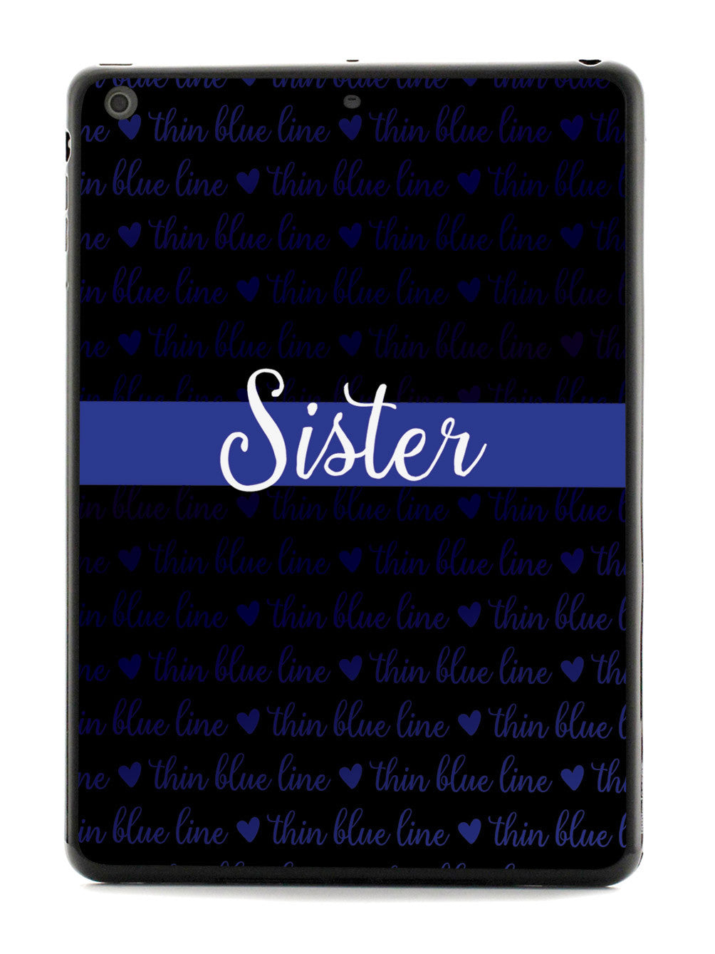 Thin Blue Line - Sister Case