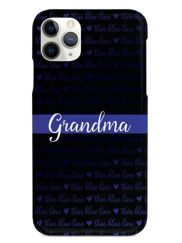 Thin Blue Line - Grandma Case