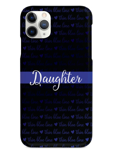 Thin Blue Line - Daughter Case