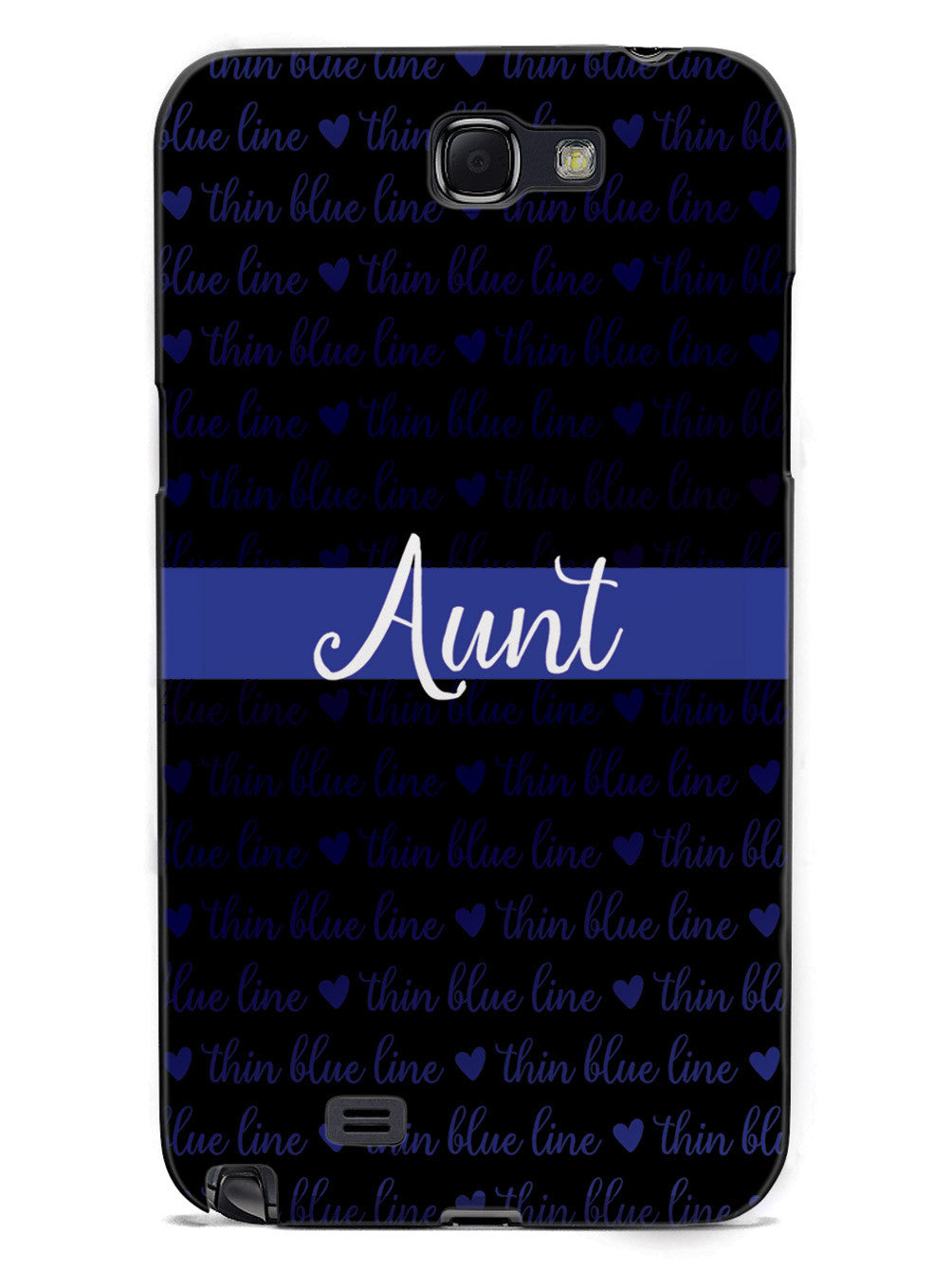 Thin Blue Line - Aunt Case