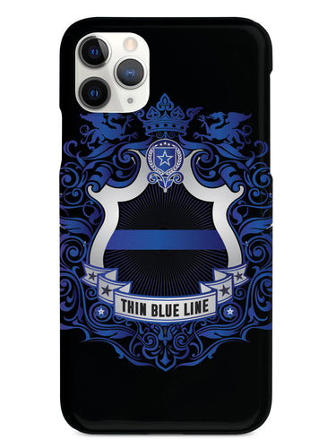Thin Blue Line - Family Crest - Black Case
