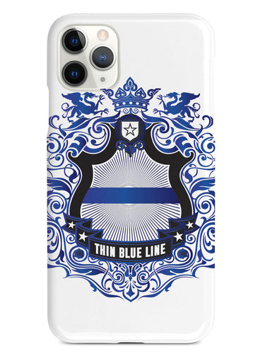 Thin Blue Line - Family Crest - White Case