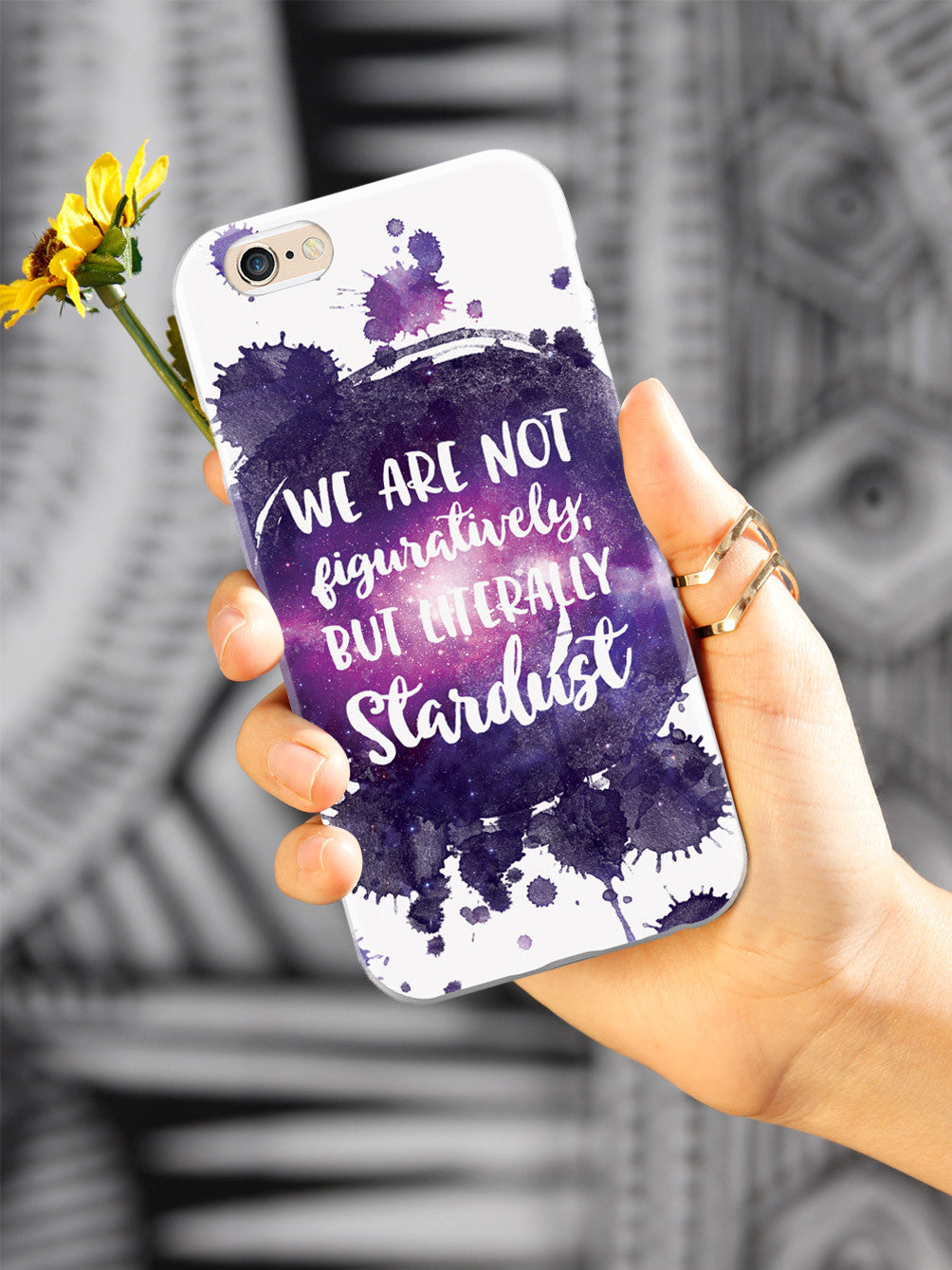 We Are Stardust Neil Degrasse Tyson Quote Case Inspiredcases