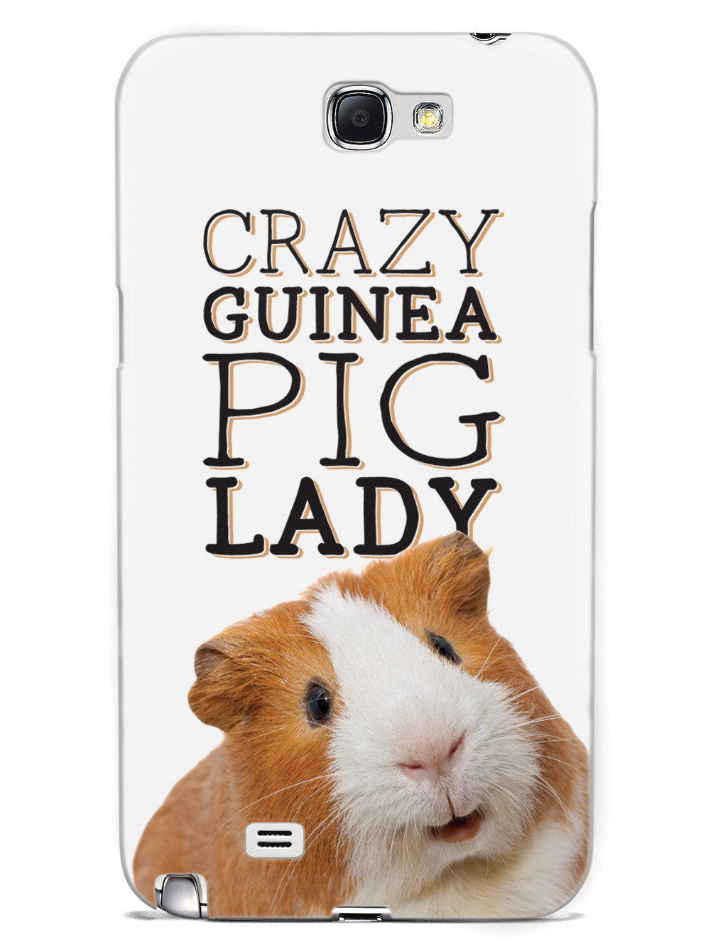 Crazy Guinea Pig Lady Case