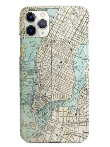 Old Street Map of New York Case
