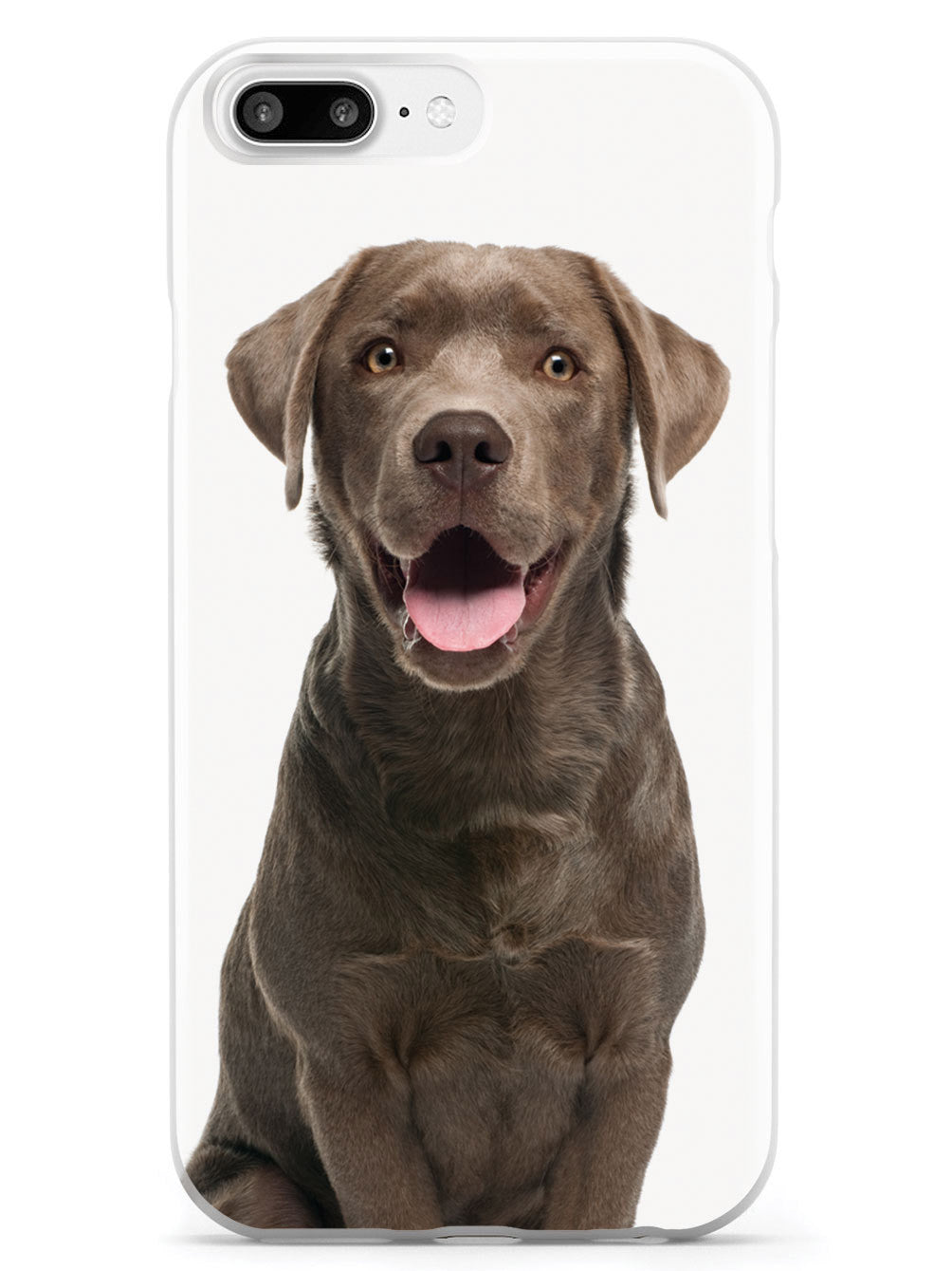 Chocolate Labrador Case