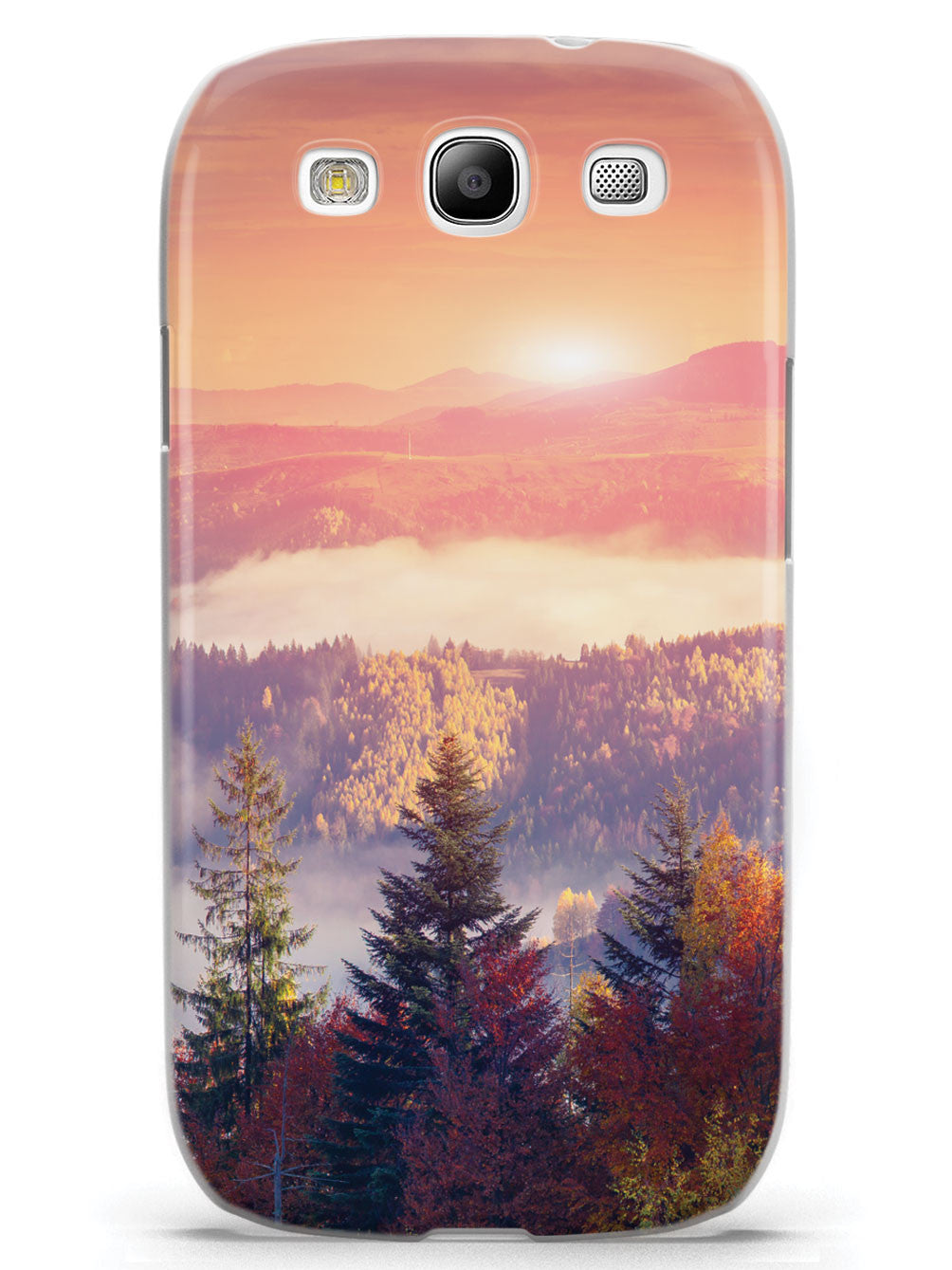 Autumn Trees and Sunset Case