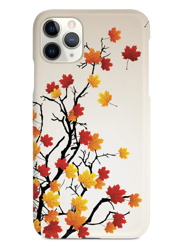 Autumn Leaves on Branches Case