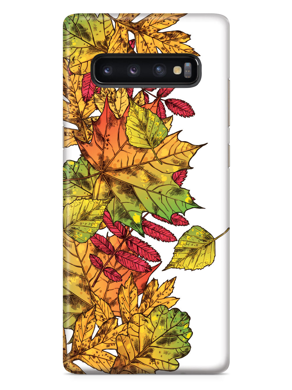 Autumn Leaves Illustration - White Case