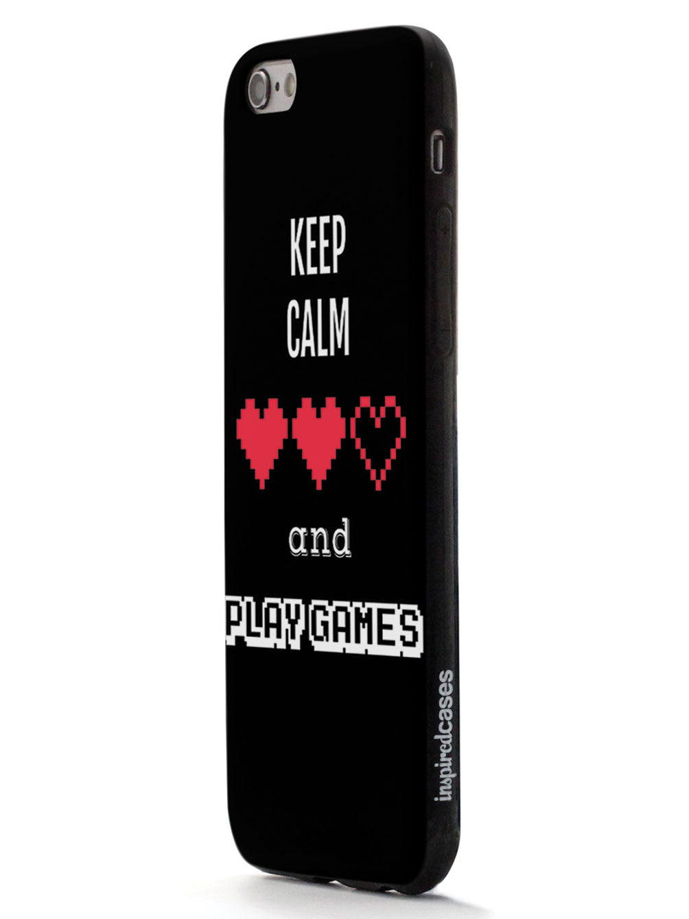 Keep Calm and Play Games - Gamer Case