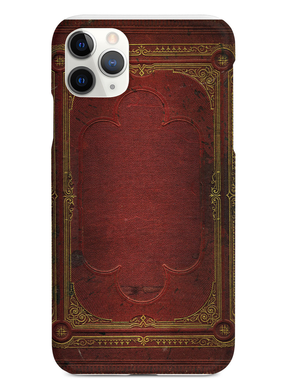 Ancient Book Cover - Red and Gold Case