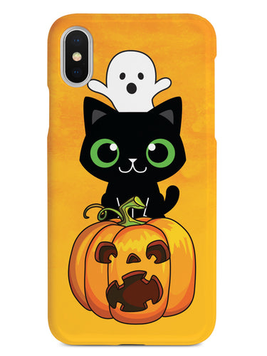 Cute Halloween Trio - Fall Background Case