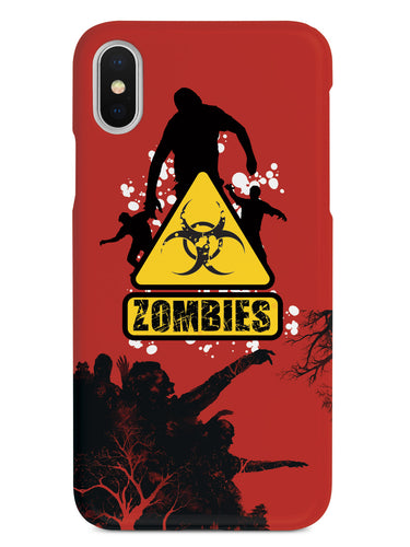 Caution - Zombies - Black Case
