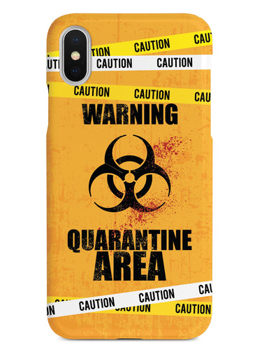 Caution - Quarantine Area - Orange Case