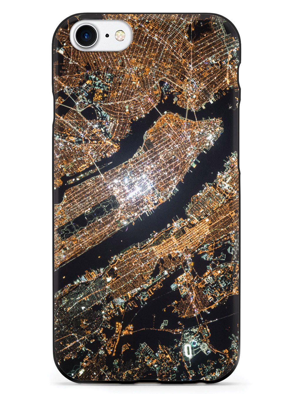 New York at Night from Space Case