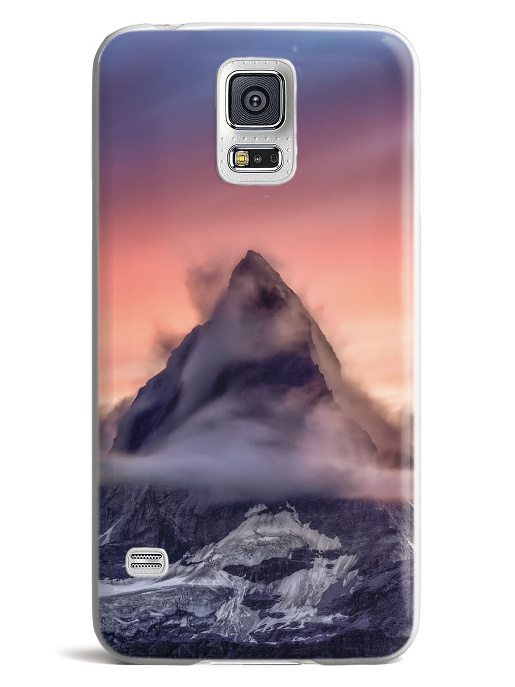 Mountain Top with Beautiful Sky Case