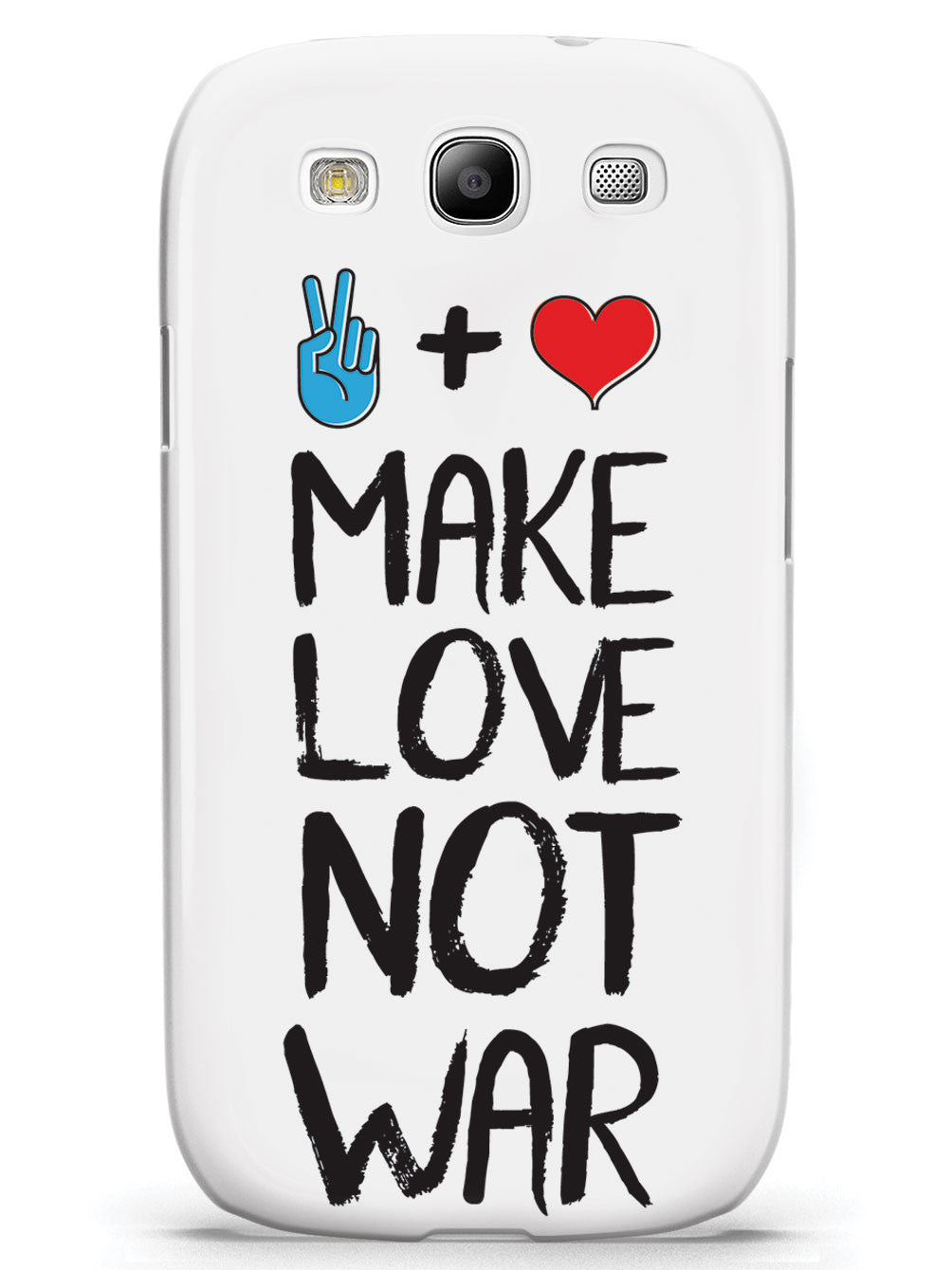 Make Love Not War - White Case