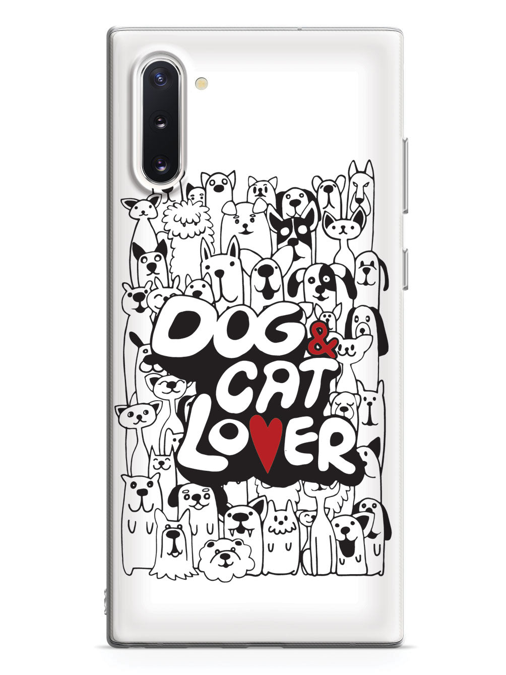 Dog & Cat Lover - White Case